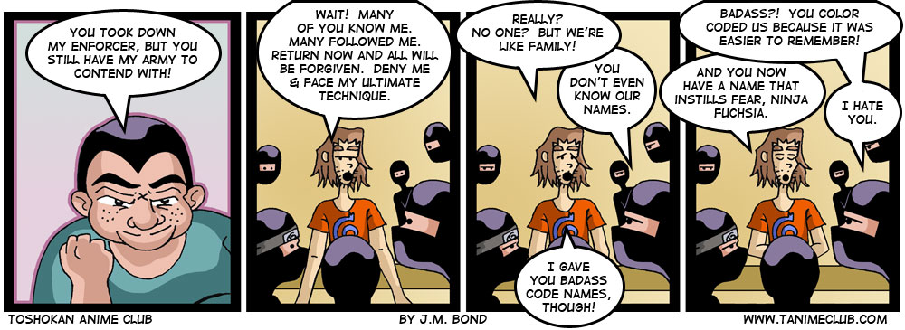 Badass Code Names
